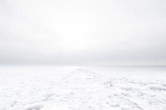 Schoo Flemming, White Frozen Embankment (Deutschland, Europa)
