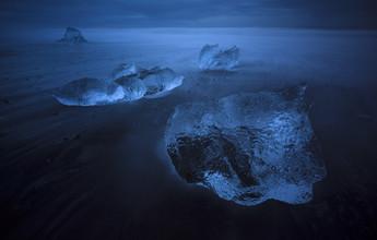 Jens Rosbach, Island, am Vatnajökull Gletscher (Island, Europa)