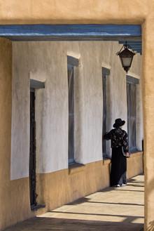 Franzel Drepper, Woman in Santa Fee (Vereinigte Staaten, Nordamerika)