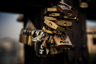 Locked - fotokunst von Manuel Ferlitsch