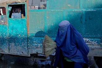 Christina Feldt, Woman in Kabul, Afghanistan. (Afghanistan, Asien)