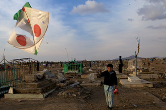 Christina Feldt, Kite Flying in Kabul (Afghanistan, Asia)