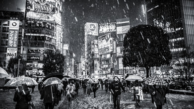 Jörg Faißt, Shibuya (Tokyo) in Winter (Japan, Asia)