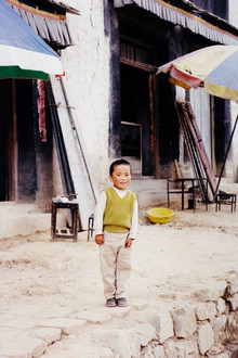 Eva Stadler, Tibetan boy, 2002 (China, Asia)