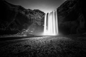 Jens Rosbach, Skogafoss-Wasserfall, Island (Island, Europa)