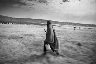 Jens Rosbach, Masai, Wasserträger (Kenia, Afrika)