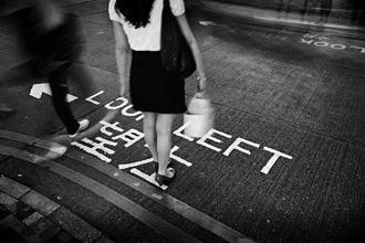 Rob van Kessel, The Danger of Left-Hand Traffic (Hong Kong, Asia)
