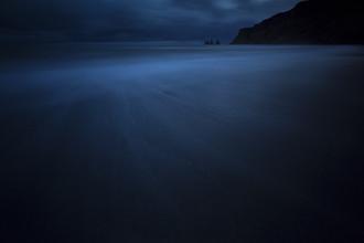 Deep Blue, Island - fotokunst von Jens Rosbach