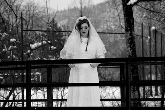 Alisa Schätzle, White Wedding, Black Forest (Germany, Europe)