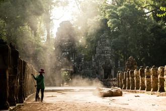Steffen Rothammel, Tempelreinigung (Kambodscha, Asien)