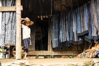 Steffen Rothammel, blauer Stoff (Vietnam, Asien)