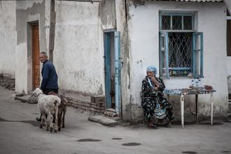 Jeanette Dobrindt, Morgens in Buchara (Usbekistan, Asien)