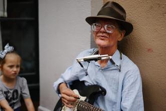 Eike Loge, Old musician in New Orleans (Vereinigte Staaten, Nordamerika)