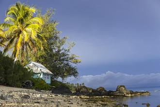 Ursula Fleiß, Foto - Fuks, Gewitterstimmung in der Südsee (Cookinseln, Australien und Ozeanien)