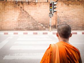 Johann Oswald, Monk Crossing (Thailand, Asia)