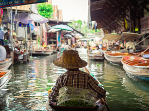 Johann Oswald, Damnoen Saduak Floating Market 2 (Thailand, Asia)