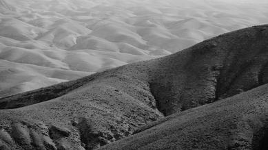 on the way to Dead Sea - fotokunst von Victor Bezrukov