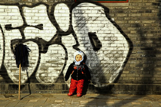 Gloria Jansen, graffiti child (China, Asia)