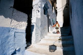 Morocco Chefchaouen - fotokunst von Jim Delcid