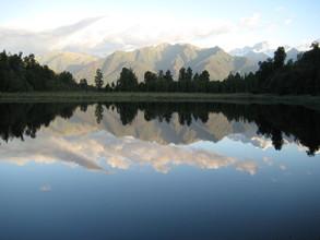 Melanie Cao, Lake Matheson, New Zealand (Neuseeland, Australien und Ozeanien)