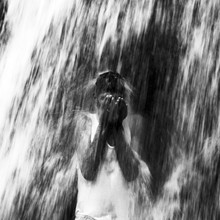 Julie Becquart, Wasserfall von Ourika-Tal (Marokko, Afrika)