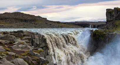Markus Schieder, Dettifoss Wasserfall in Island (Island, Europa)