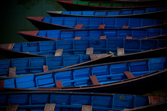 Tom Sabbadini, Blue Boats (Nepal, Asia)