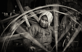 Spinning - fotokunst von Rob Smith