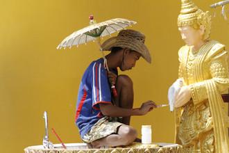 Michael Belhadi, Panting Buddha (Myanmar, Asien)