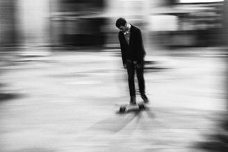 skating  - fotokunst von Massimiliano Sarno