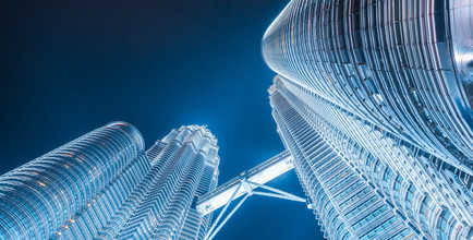 Jean Claude Castor, Malaysia - Kuala Lumpur Petronas Towers (Malaysia, Asien)