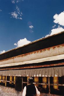 Eva Stadler, Prayer wheels, Tibet, 2002 (China, Asien)