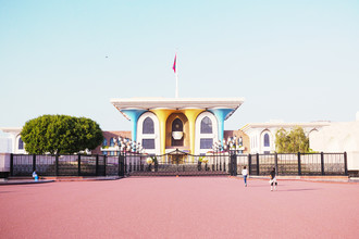 Eva Stadler, Al-Alam palace, Muscat, Oman (Oman, Asia)