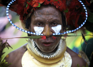 Ingetje Tadros, Sing Sing (Papua New Guinea, Oceania)