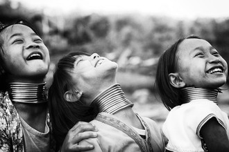 Ingetje Tadros, Longneck girls (Afghanistan, Asia)