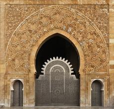 Renate Reichert, Moschee Hassan II (Morocco, Africa)