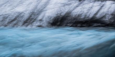 Gletschergrafik - fotokunst von Jens Rosbach