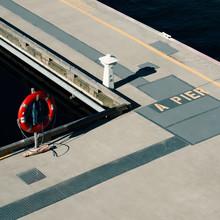 Igor Krieg, A pier (Canada, North America)