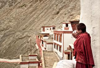 Victoria Knobloch, Mönch im Rizong Kloster (Indien, Asien)