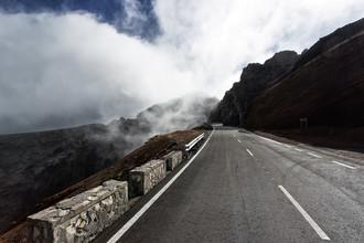 Angelika Stern, Fahrt in die Wolken auf La Palma (Spain, Europe)