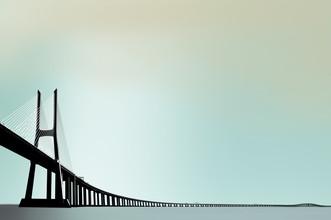 Ponte Vasco da Gama - fotokunst von Michael Köster