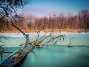 Harald Tüchler, frozen lake (Germany, Europe)
