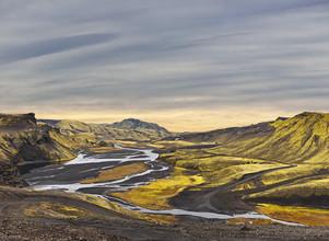 Markus Schieder, Surreal landscape of Landmannalaugar - Iceland (Island, Europa)