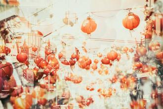 Chinesische Lichter Nr. 2 - fotokunst von Martin Röhr