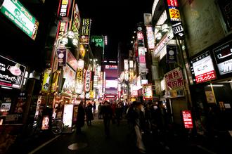 Jim Delcid, Tokyo Kabukitcho (Japan, Asien)