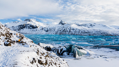 Cristof Bals, Frozen Landscape (Iceland, Europe)