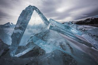 Baikal-Eis - fotokunst von Jens Rosbach