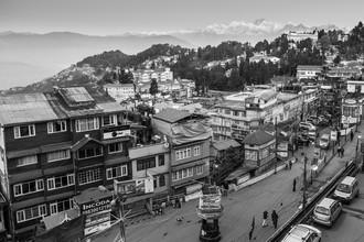 Philipp Weindich, Darjeeling with Kanchendzonga-Range (Indien, Asien)