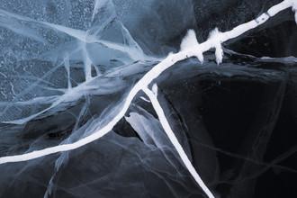 Sibirische Eiskunst - fotokunst von Jens Rosbach