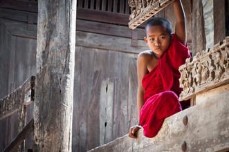 Staffan Scherz, Novice Monk (Myanmar, Asia)